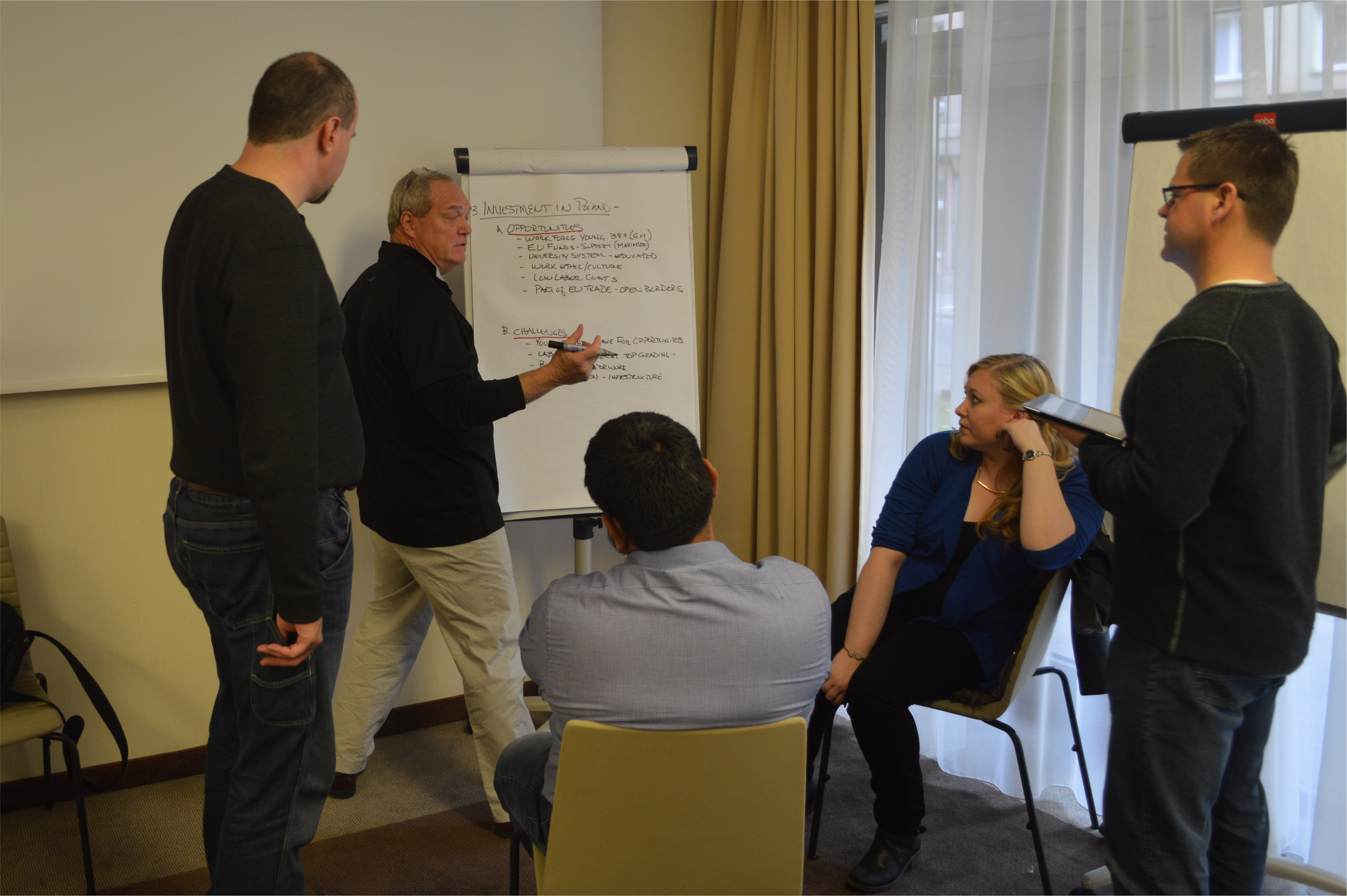 RIT Executive MBA International Trip Group Consulting Project